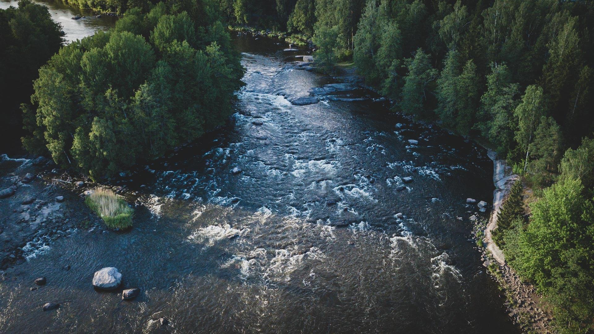 Kymijoki Virtaama